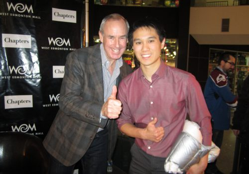 AREA-RonMaclean (sportscaster for the CBC's Hockey Night in Canada and Author)