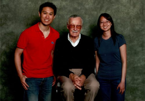 AREA-StanLee (The MAN - Creator of Spiderman)
