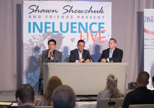 AREA sharing a Panel with Kevin Harrington (Shark Tank)2