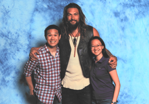 AREA with Jason Mamoa (Actor - Aquaman, Game of Thrones)